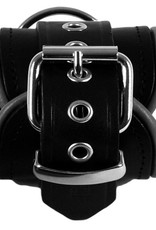 RoB Leather Ankle Restraints Grey Piping