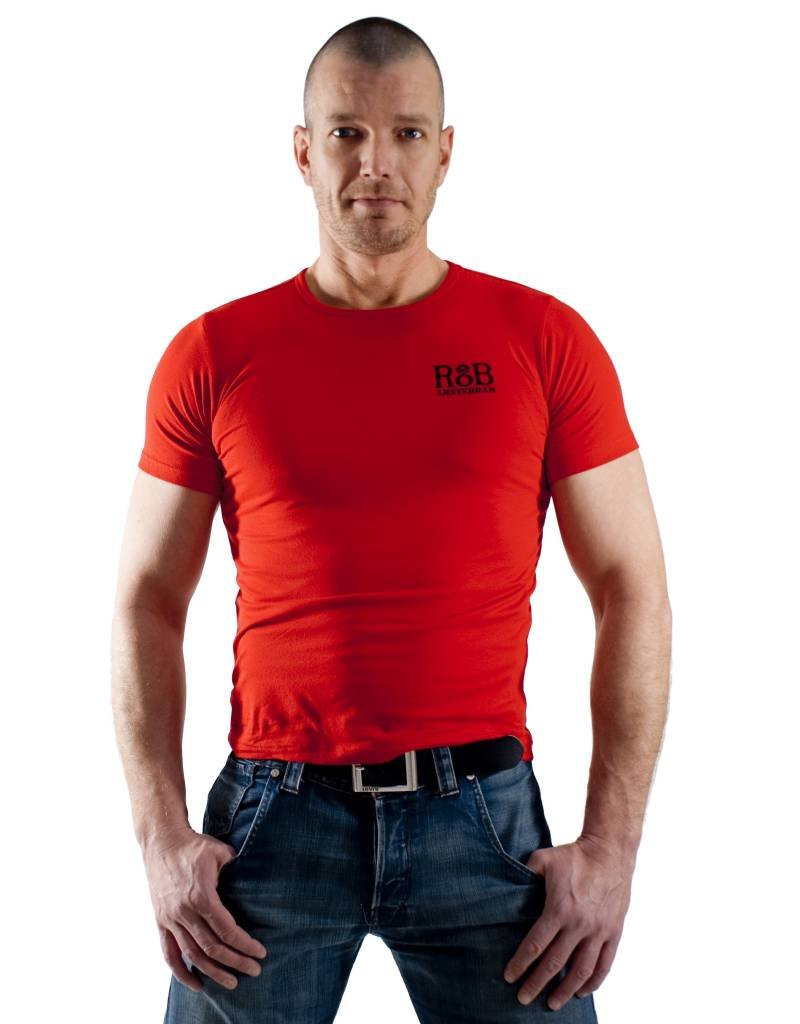 RoB RoB T-Shirt Rot/Schwarz