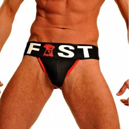 FIST FIST Jockstrap Zwart