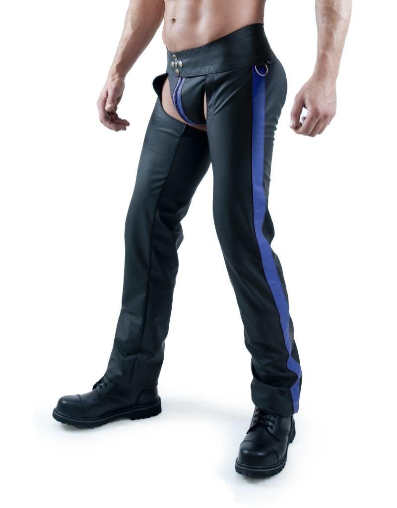 RoB F-Wear Chaps Blauer Streifen