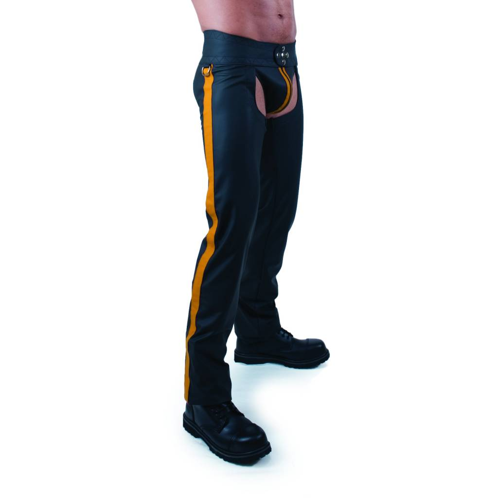 RoB F-Wear Chaps Yellow Stripe
