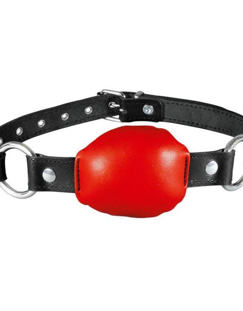 Kiotos Red Soft Leather Gag