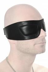 RoB Lederaugenmaske mit gepolsterten Augen