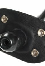 RoB Aufblasbarer Mundknebel mit Gummischlauch für Leder Kinnmaske / Leder Kopfgeschirr