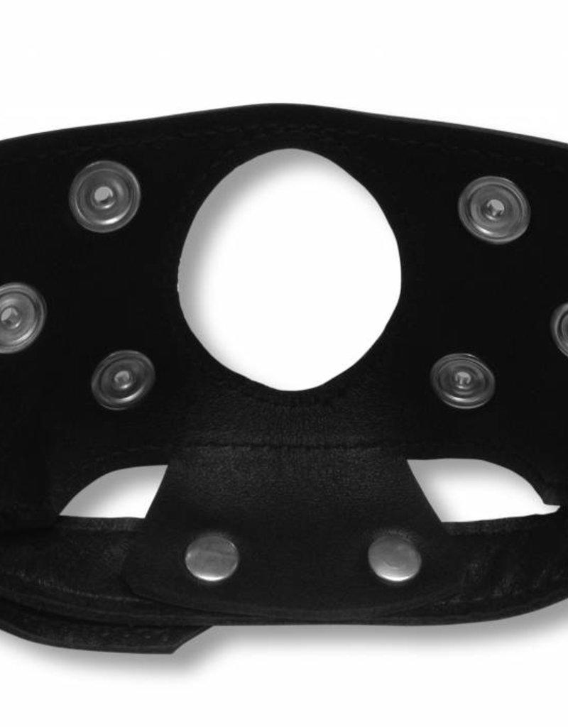 RoB Leder Kinnmaske mit auswechselbaren Mundstück
