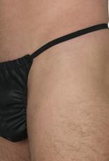 RoB Leather Elasticated Tanga