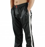 RoB Black Jogging Pants with White Stripes