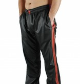 RoB Black Jogging Pants with Red Stripes