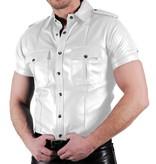 RoB Lederhemd Weiches Leder Weiss