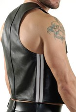 RoB Bartender waistcoat with double white stripes