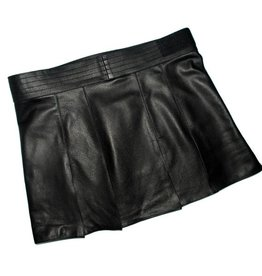 RoB Leather kilt with velcro closure