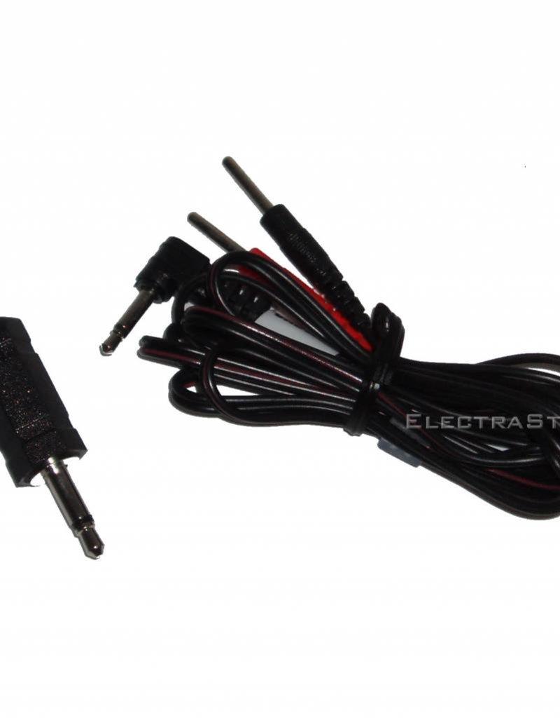 Electrastim ElectraStim Adapter Cable Kit 3,5 mm/2,5 mm Jack