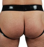 RoB Rubber jockstrap with front zip