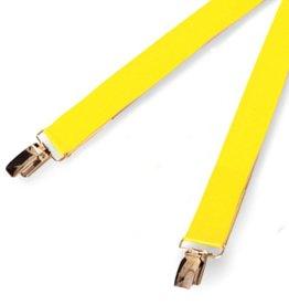 RoB Gummi Hosenträger gelb