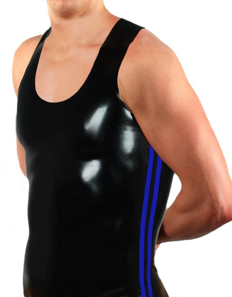 RoB Y-Back Singlet with Blue Stripes