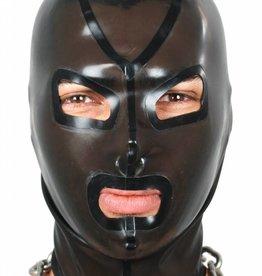 Rubber Hood Transparent Black