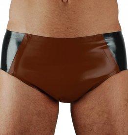 RoB Rubber 'Sport' Slip met bruine voorkant