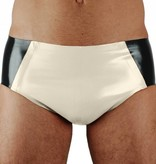 RoB Rubber 'Sport' Brief with white pouch