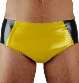 RoB Rubber 'Sport' Slip met gele voorkant