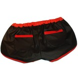 RoB F-Wear Sport Shorts zwart met rode strepen