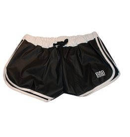 RoB F-Wear Sport Shorts black with white stripes