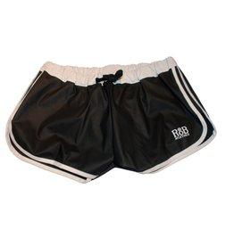 RoB F-Wear Sport Shorts zwart met witte strepen