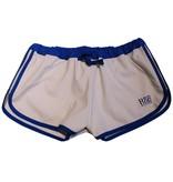RoB F-Wear Sport Shorts wit met blauwe strepen