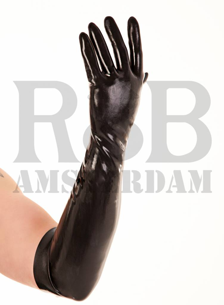 Rubber Elbow Gloves