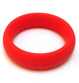 Ignite Wide Silicone Cockring Red