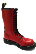 Steel Boots 15 holes Red