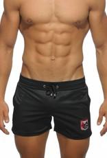 Addicted Addicted Badge Sport Short zwart met rood