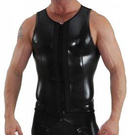 Neoprene Vest with zip black