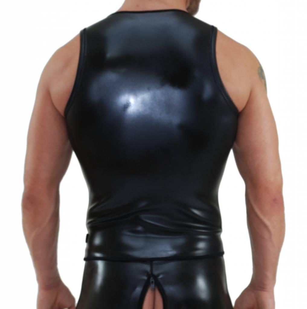 RoB Neoprene Vest with zip black