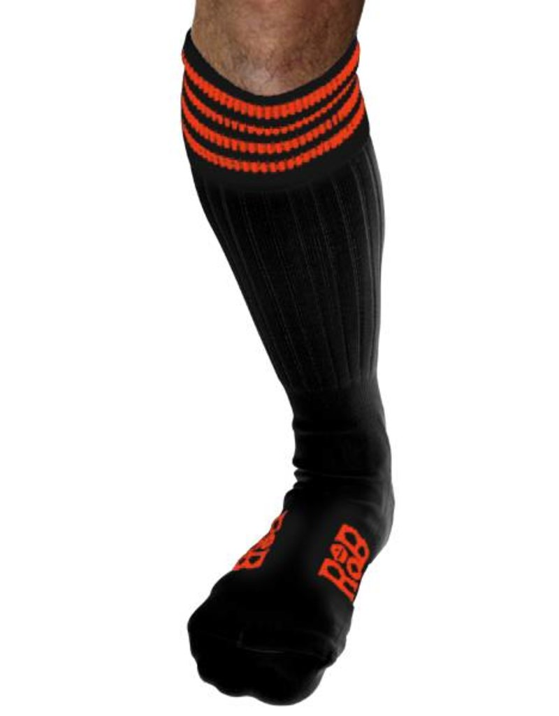 RoB RoB Boot Socks Schwarz mit Orange