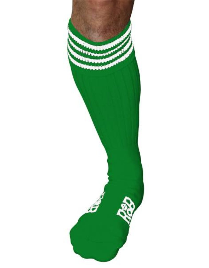 RoB RoB Boot Socks Grün mit Weiss
