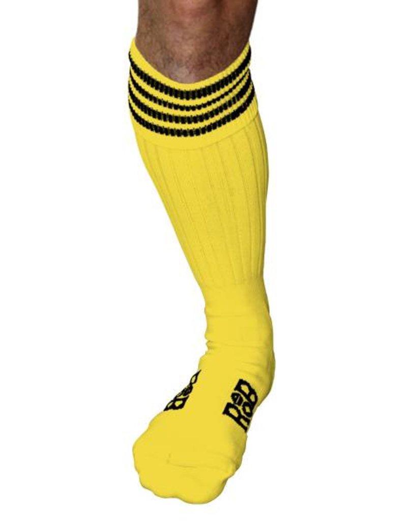 RoB RoB Boot Socks Gelb mit Schwarz