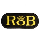RoB RoB Patch Yellow for Jackets or Shirts