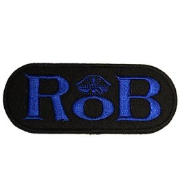 RoB RoB Patch Blue for Jackets or Shirts