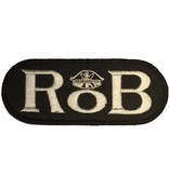 RoB RoB Patch White for Jackets or Shirts