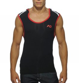 Addicted Addicted Hoody Tank Top Black