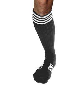 RoB RoB Boot Socks grijs met witte strepen