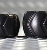 Oxballs Grinder-1 Short Tire Tread Ballstretcher Orange Small
