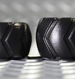 Oxballs Grinder-2 Short Tire Tread Ballstretcher Black Large