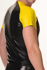 RoB Rubber T-Shirt with Yellow Sleeves