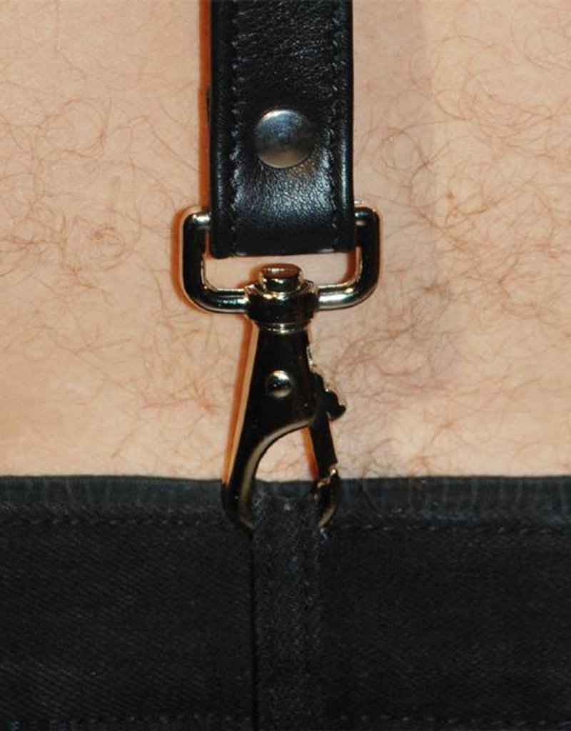 RoB Leather Braces with clip