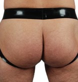 RoB Rubber Jockstrap with brown stripe