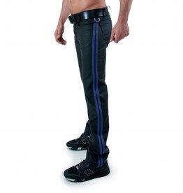 RoB F-Wear Full Zip Jeans met dubbele blauwe strepen