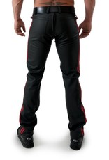 RoB F-Wear Full Zip Jeans met dubbele rode strepen
