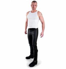 RoB F-Wear Jeans, Schwarze Doppelstreifen