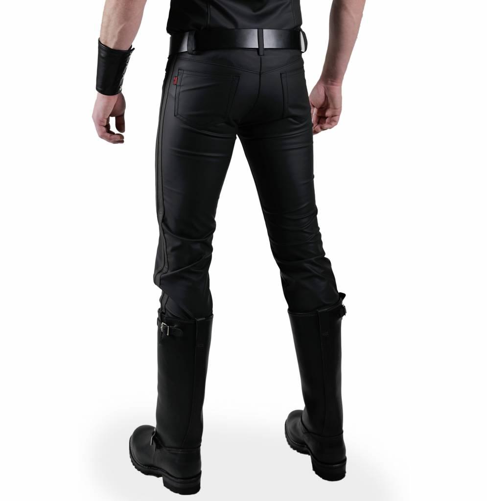 RoB F-Wear Jeans met dubbele zwarte strepen